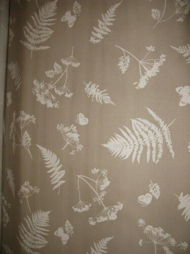 A DESIGNER  CURTAIN FABRIC MOORLAND TAUPE 100/% Cotton CC45