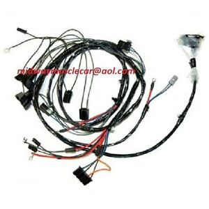 engine & front end light wiring harness kit V8 69 Pontiac Firebird on pontiac firebird, 1st gen firebird, bandit firebird,