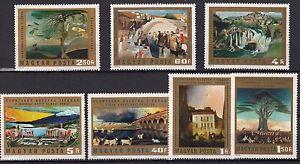 UNGHERIA-HUNGARY-1973-7-Valori-Csontvary-Kosztka-Yvert-2315-21-SG-2811-17-MNH