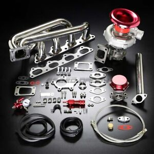 Details about B20/B23/B230 T04E STAGE II TURBO CHARGER MANIFOLD UPGRADE KIT  FOR 89+ VOLVO 16V