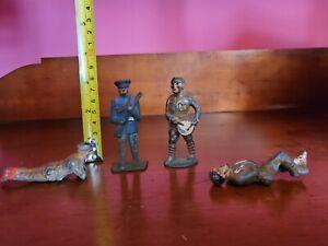 Antique Metal Toy Solrs 1930s