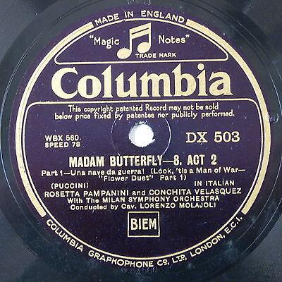 78 record in frame MADAMA BUTTERFLY una nave da guerra / e questo
