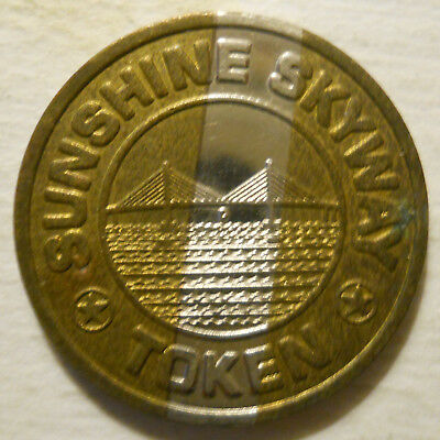 transit tokens FL880M St. Petersburg, Florida Lot of 10 Sunshine Skyway