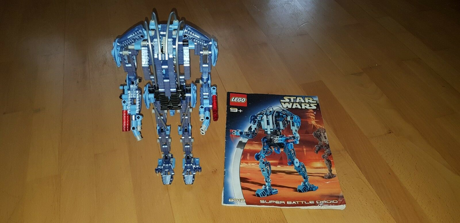 Lego Technic 8012 - Star Wars Super Battle Droid