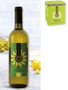 Vino Bianco Grillo Di Sicilia Fonte Frontini Cartone Di 6 Bottiglie Da 75 Cl Ebay