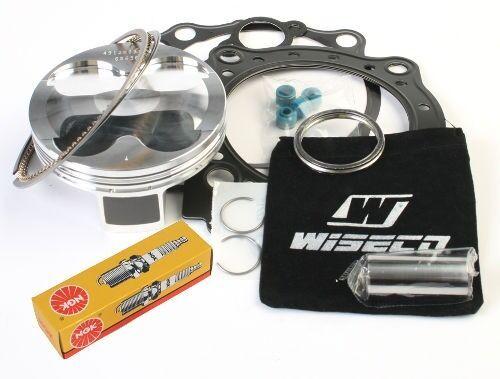 95.5mm 13:1 Piston Top End Gaskets Spark Plug Suzuki QuadRacer R450 2006-2009