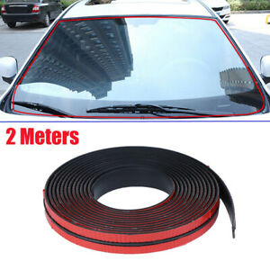 2M-Car-Waterproof-Rubber-Seal-Strip-Weatherstrip-for-Car-Windshield-Window-Roof