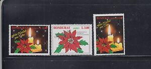 Honduras-1996-Christmas-Sc-C983-985-Complete-Mint-Never-Hinged