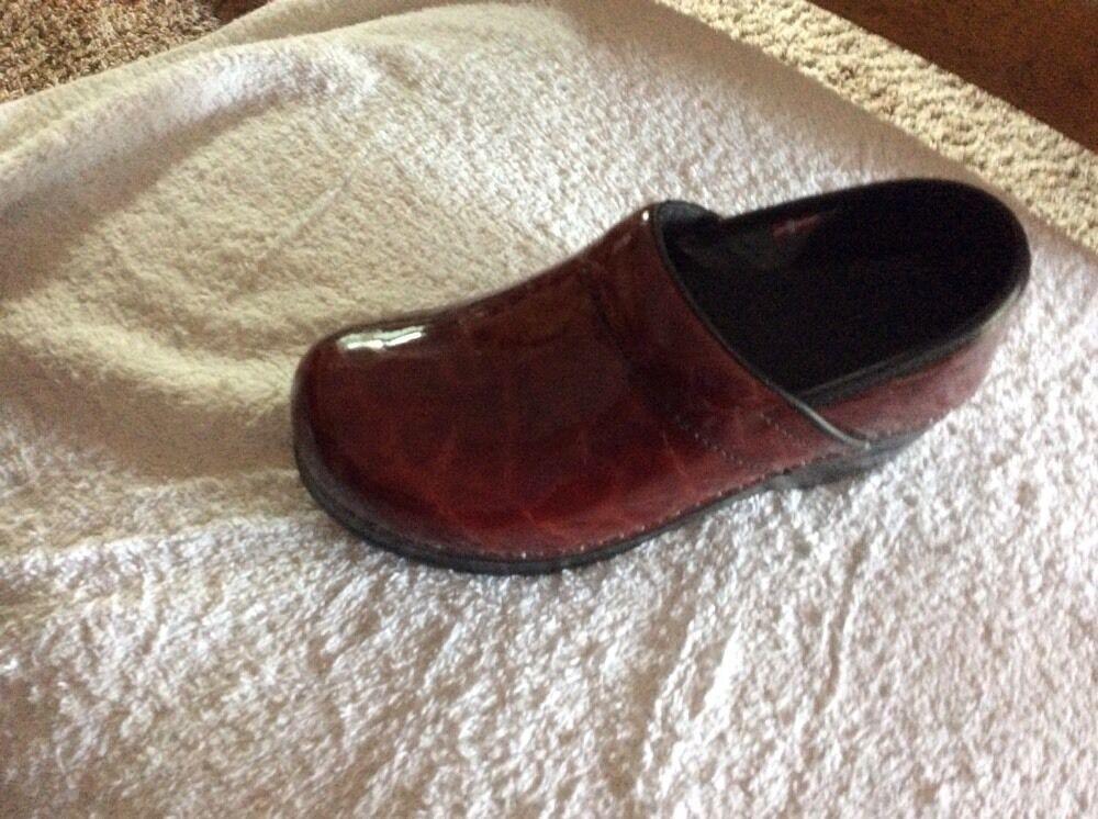 Nuevos Zapatos.. Sanita.. 5 EUR 36... Burdeos.. Burdeos.. Burdeos.. firma, Patente Cuero. Prof. Shasta..  salida