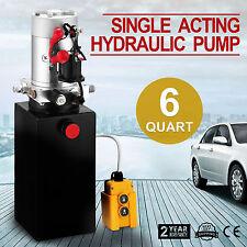 6L Hydraulikaggregat, Hydraulik Pumpe 12 V Volt LKW Kipper Hydraulik Auto FUNK
