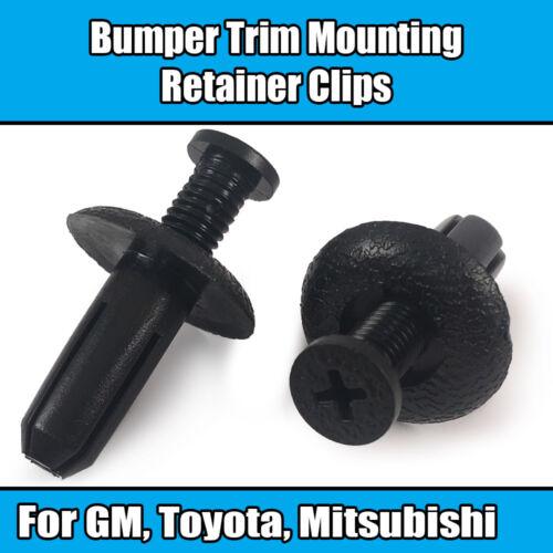 50x Clips for Toyota Mitsubishi Bumper Trim Mounting Retainer Rivet 90467-08155