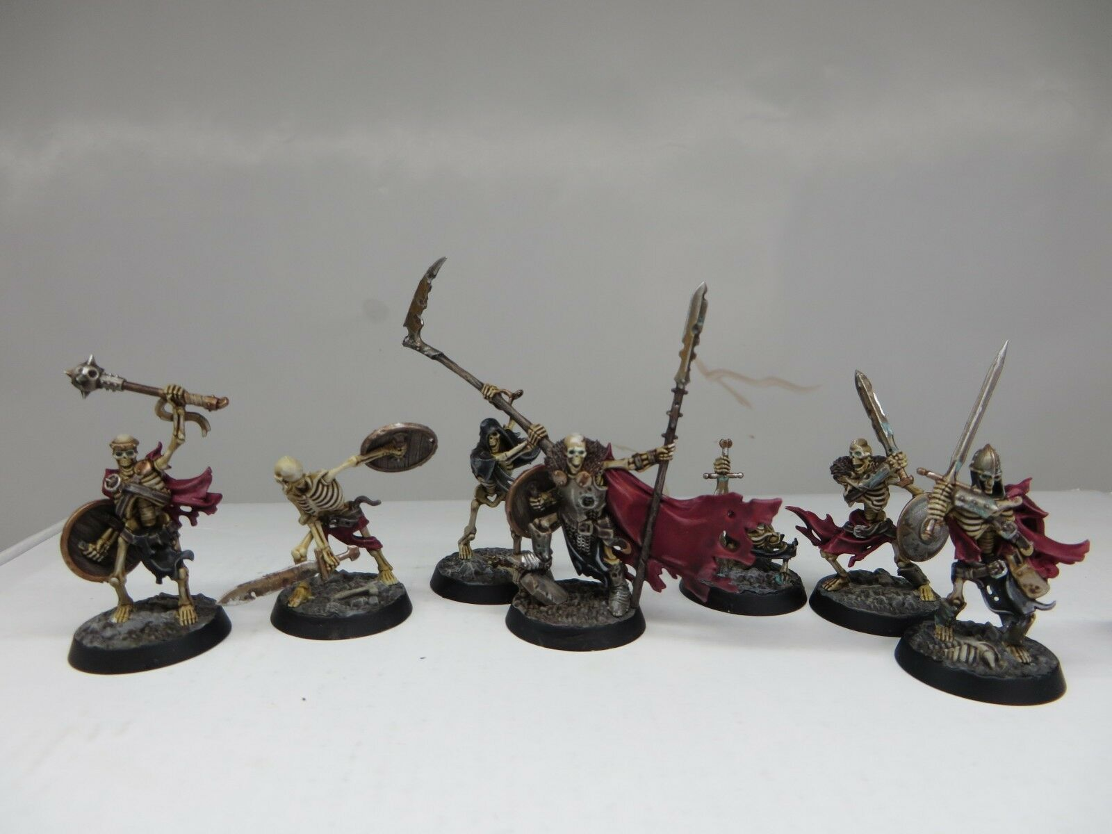 Warhammer Shadespire Sepulchlar Guard PAINTED Games Workshop Death Skeletons