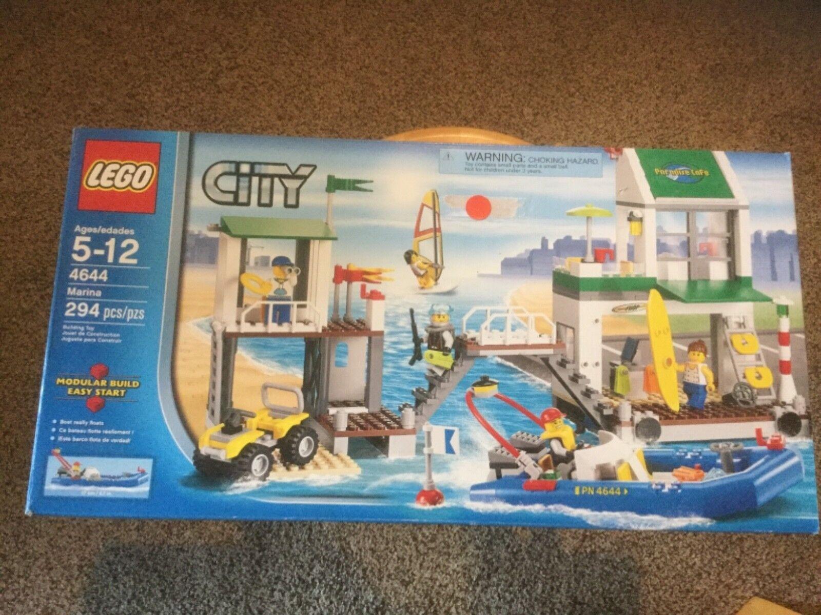 più sconto NIB NIB NIB Lego città Marina (4644)  autorizzazione ufficiale