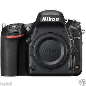 "Nikon D750 Body 24.3mp 3.2"" DSLR Digital Camera Brand New Jeptall D20"