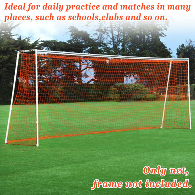 New Portable 24/' x 8/'// 12/'x7/' Official Size Soccer goal Net Football Training