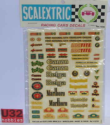 Scalextric Exin 4239 Calca Varie 1/32 Prestazioni Affidabili