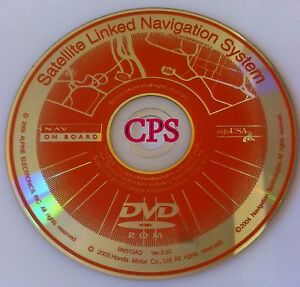 Image Is Loading Honda Acura NAVTECH Satelitte Linked Navigation System DVD