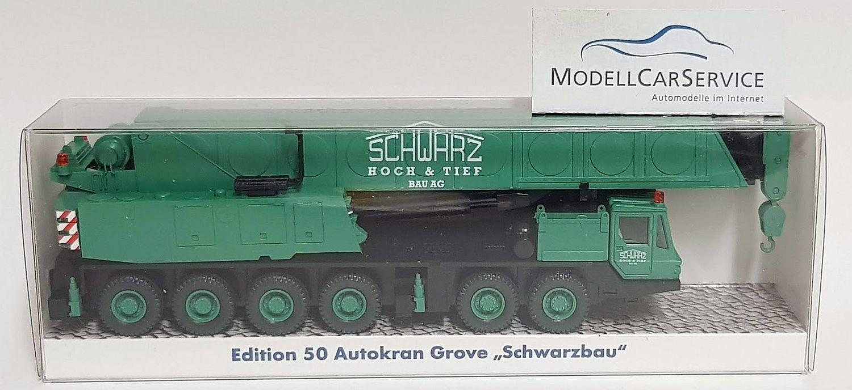 """Wiking Sondermodell 1 87 (H0)  Grove Autokran """"Schwarzbau"""""""