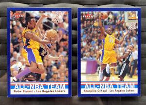 2002-03-Fleer-Premium-Kobe-Bryant-5-AS-Shaquille-Onesl-3-AS-NmMt-PSA
