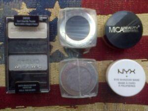 Mica-amp-NYX-Primers-Wet-n-Wild-Palette-amp-2-Mono-Eye-shadows