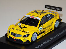 1/43 Minichamps Mercedes C-Class #17 DTM Deutsche Post David Coulthard Dealer Ed
