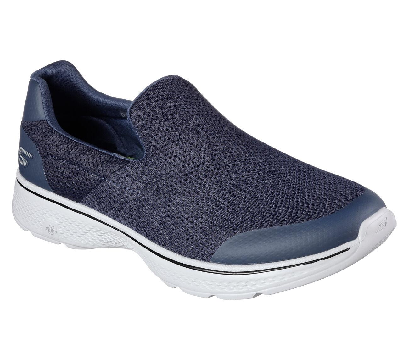 SCARPE SKECHERS GO WALK 4- INCrossoIBLE uomo uomo uomo mocassino slip on blu 54152 NVGY   Shopping Online    Uomo/Donne Scarpa  7b9e95