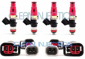 4 EV14 550cc Fuel Injectors Mazda Miata MX5 1990-2005 1.6L 1.8L FLOW MATCHED SET