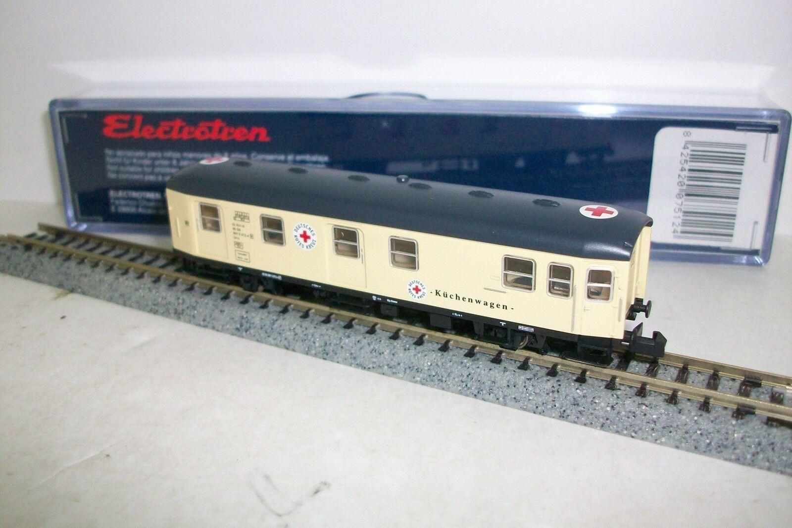 N ELECTROTREN 7512    Vagon CRUZ ROJA alemana DB  Ep. III tipo ibiis