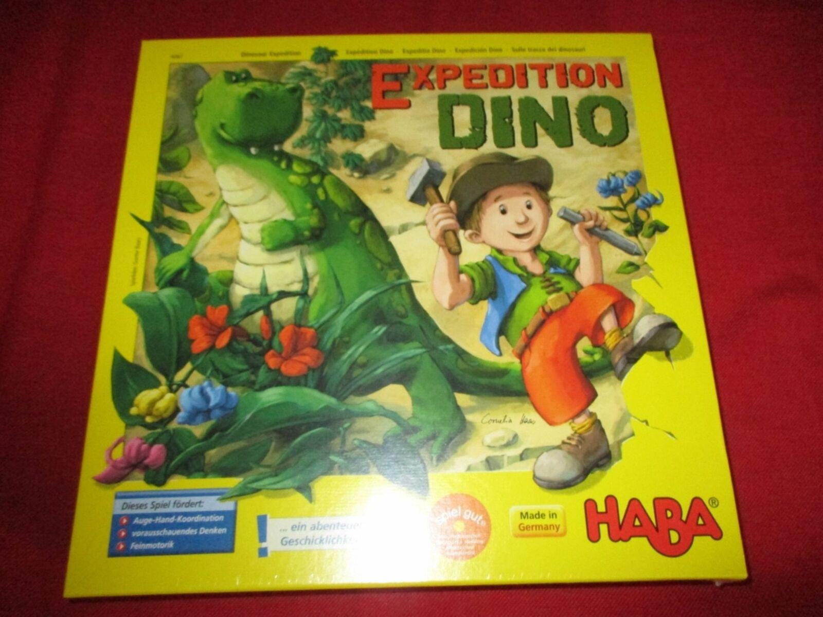 Haba ® 4087 juego de mesa Expedition Dino nuevo embalaje original