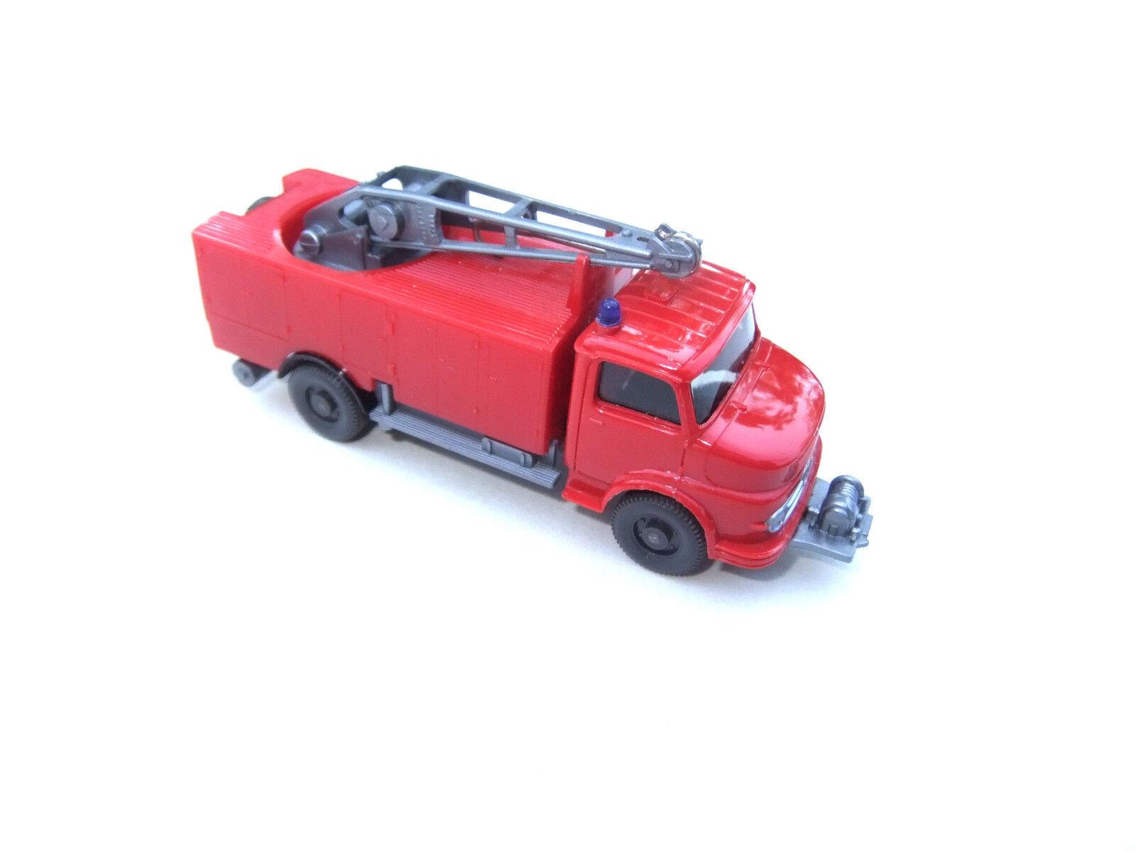 Feuerwehr-Kran  Wiking  HO 1 87