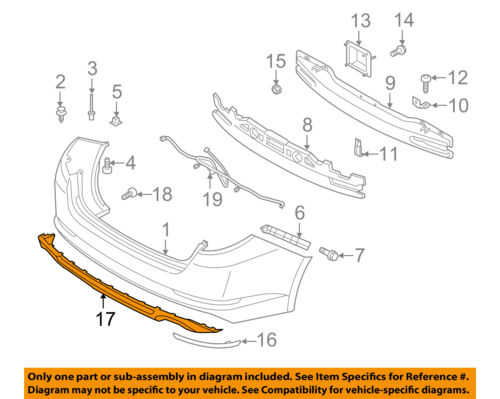 KIA OEM 11-13 Optima Rear Bumper-Lower Cover 866122T010
