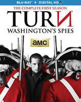 TURN: Washington's Spies (Blu-ray Disc, 2015, 3-Disc Set)