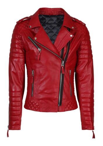 Femmes Veste en cuir Kay Michaels Gesteppt étroite Coupe Femmes Leather Ladies Veste
