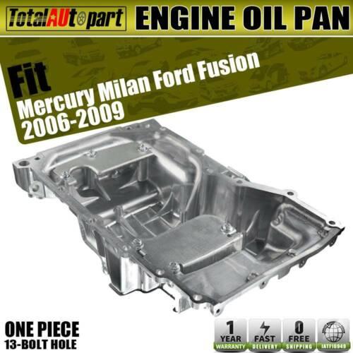 Aluminum Oil Pan w//o Level Sensor for Ford Fusion 2.3L 2006 2007 2008 2009 2010