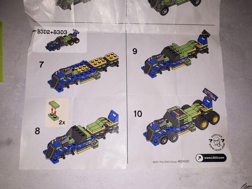 Lego Racers, 8302 og 8303