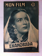 "Mon Film n°303 du 11/06/1952 ""Enamorada"" Marla Félix"