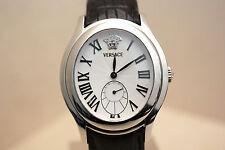 Orologio da uomo Versace mod. Bond Street automatico in acciaio e pelle