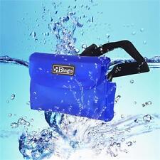 Bingo Waterproof Big Waist Bag for Camera Phone Protector Underwater  Blue wp3-3