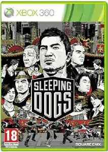 Xbox-360-SLEEPING-DOGS-Nuovo-e-Sigillato-UFFICIALE-STOCK-Regno-Unito