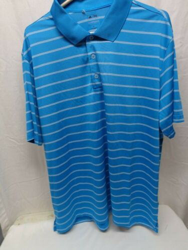 Addis Prue Motion Men's XL Blue Golf Shirt