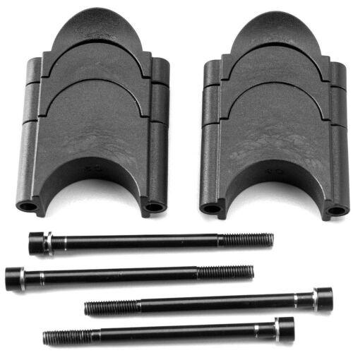 Noir Taille unique Deda Elementi Unisex Parabolica//Fastblack 2 Spacer Kit
