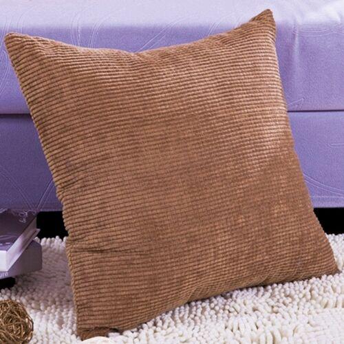 12 18 24 26 Ship USA Corn Kernels Corduroy Pillow Cover Cushion Case 4 Size