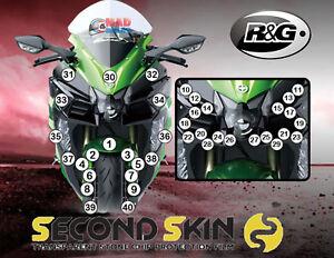 R&G Second Skin Kawasaki Ninja H2 SX / SX SE 2018 >On Stone Chip Protection Kit