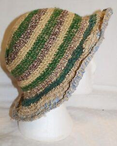 Nepal Ethnic Ethical Hippy Boho Hemp Cotton Knitted New Fairly Traded Hat