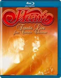 HEART-FANATIC-Live-from-Caesars-COLOSSEO-BLU-RAY-NUOVO
