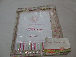 New Stacy Floral Flowers Window Valance 18x53 Mini Flower