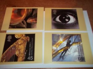 Sound-amp-Vision-5-December-2000-PHQ-226-set-Royal-Mail-Stamp-Card-Series-MINT