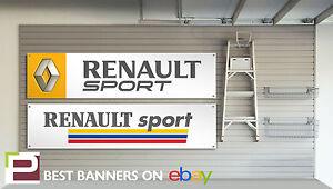 Renault Sport Workshop Garage Banner Clio, Megane, Williams, r27, Cup, 172, 182