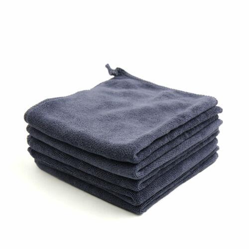 5pcs 400GSM 33 x 33cm Microfiber Polishing Cleaning Towel for Car Home