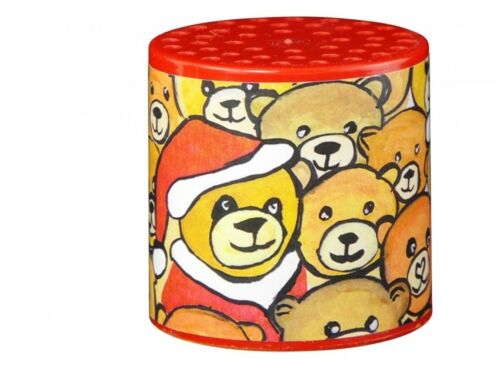Tierstimmendose Bärendose Motiv Weihnachtsbär mit Brummstimme Tierstimmen Dose